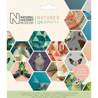 Natures Geometry Paper Pad 6 X 6 Inch