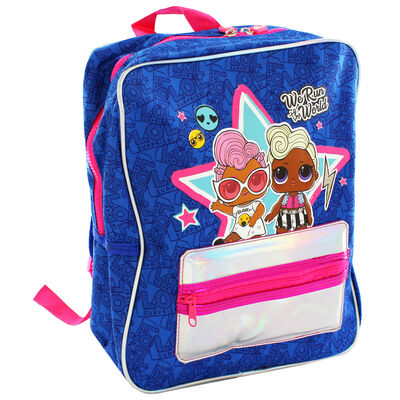 LOL Surprise Holographic Blue Backpack image number 1