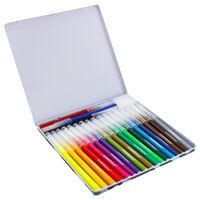 Camo Brush Pens - Tin of 20