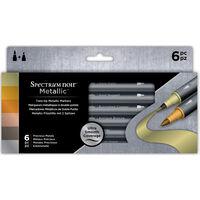 Spectrum Noir Metallic Markers: Precious Metals