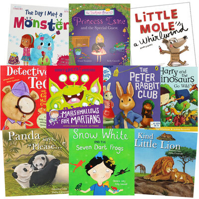 Bedtime Mysteries & Adventures: 10 Kids Picture Books Bundle image number 1