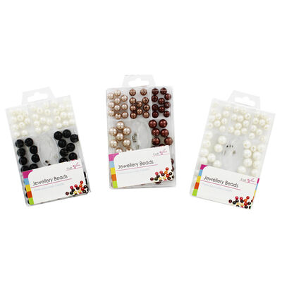 Pearl Jewellery Beads - Assorted image number 2