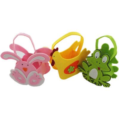Cute Felt Easter Animal Bag - Assorted image number 2