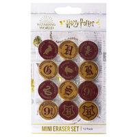Harry Potter Mini Eraser Set: Pack of 12