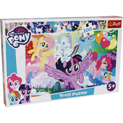 My Little Pony 100 Piece Jigsaw Puzzle image number 1