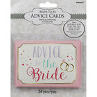 Bride to Be Advice Cards image number 1