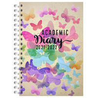A5 Butterfly 2021-2022 Day a Page Diary
