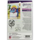 Gemini Shaker Card Stamp and Die Set - Hip Hip Hooray image number 2