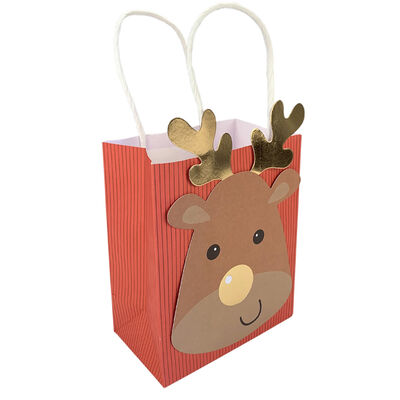 Assorted Christmas Treat Bags: Pack of 6 image number 4