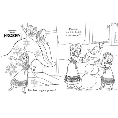 Disney Frozen Simply Colouring image number 2