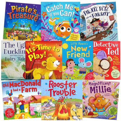Pirate Pete & Friends: 10 Kids Picture Books Bundle image number 1