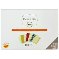 American Crafts: Project Life Amy Tangerine 100 Piece Journal Kit