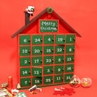 Wooden House Advent Calendar image number 3