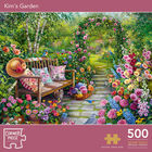 Kim's Garden 500 Piece Jigsaw Puzzle image number 1