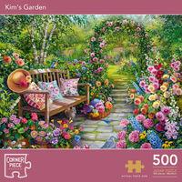 Kim's Garden 500 Piece Jigsaw Puzzle