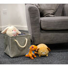 Grey Folding Storage Bag image number 4