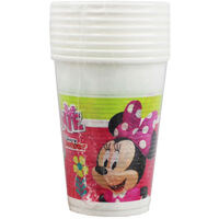 Minnie Mouse Plastic Cups - 8 Pack