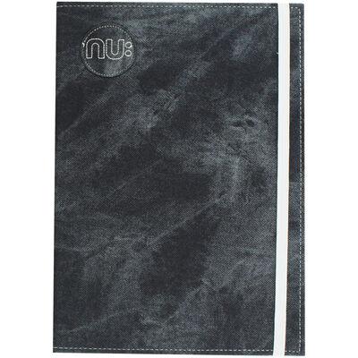 NU Grey Denim Maxi Lined Notebook image number 1
