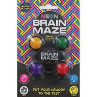 Neon Brain Memory Maze