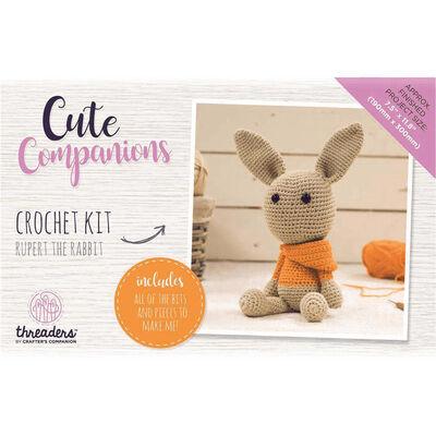 Rupert The Rabbit - Cute Companions Crochet Kit image number 2