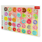 Doughnuts 500 Piece Jigsaw Puzzle image number 3