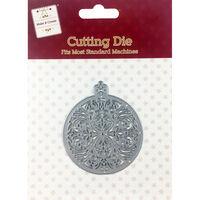 Ornate Bauble Metal Cutting Die