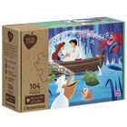 Disney Princess Eco-Friendly 104 Piece Jigsaw Puzzle image number 1