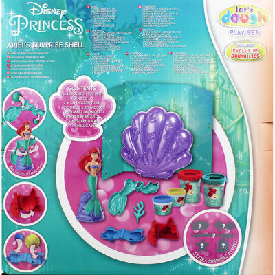 Disney Princess Ariel Dough Surprise Shell image number 4