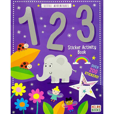 Little Adventures: 123 Numbers Sticker Activity Book image number 1