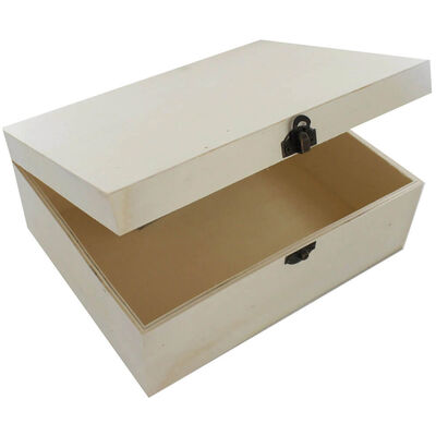 Pyrography Tool and Large Wooden Box Bundle image number 2