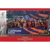Liverpool FC Trophy Lift Poster