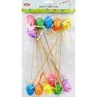 Easter Egg Picks - 12 Pack image number 1