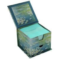 Monet Waterlilies Memo Cube