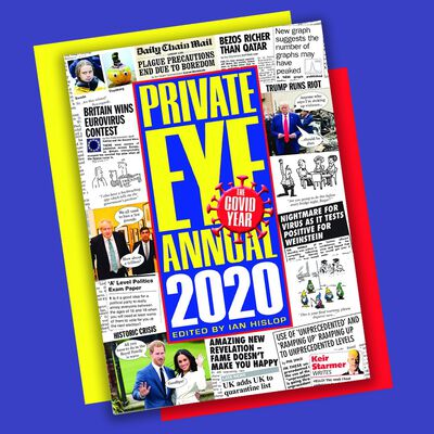 Private Eye Annual 2020 image number 3