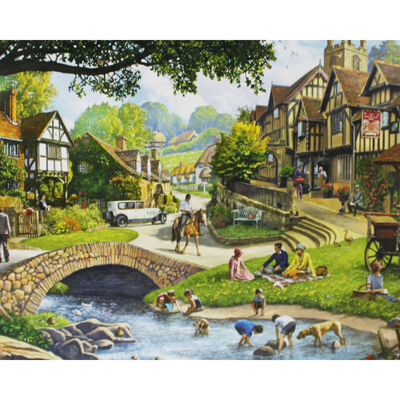Summer Stream 1000 Piece Jigsaw Puzzle image number 2