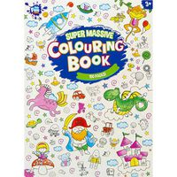 Super Massive Colouring Book