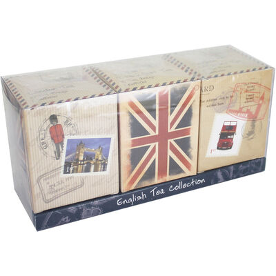 English Travel Tea Collection - Set of 3 image number 1