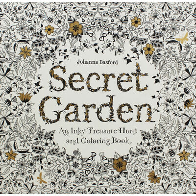 Secret Garden: An Inky Treasure Hunt and Colouring Book image number 1