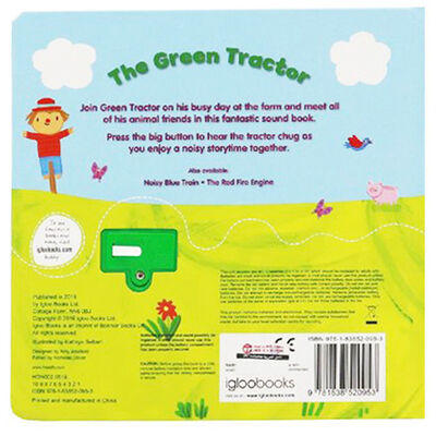 The Green Tractor Big Button Sound Book image number 3