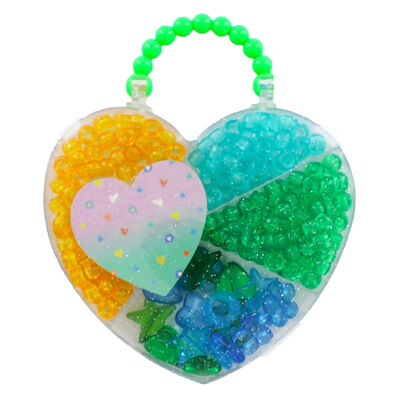 Heart Bead Jewellery Set - Assorted image number 3