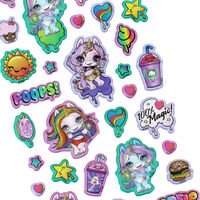 Poopsie Slime Surprise Puffy Stickers Set