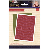 Sara Signature T'was the Night Before Christmas Embossing Folder: Musical Notes