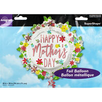 30 Inch Mothers Day Super Shape Helium Balloon