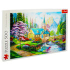 Woodland Seclusion 500 Piece Jigsaw Puzzle image number 1