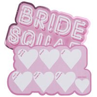 Pink Bride Squad Party Advice Cards - 10 Pack