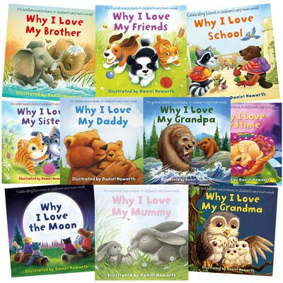 Why I Love: 10 Kids Picture Books Bundle image number 1