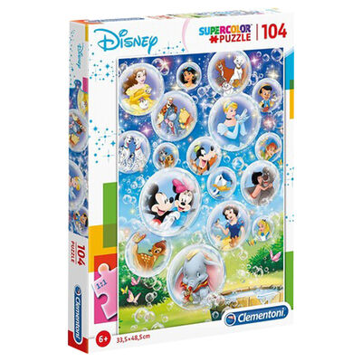 Disney Classics 104 Piece Jigsaw Puzzle image number 1