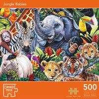 Jungle Babies 500 Piece Jigsaw Puzzle