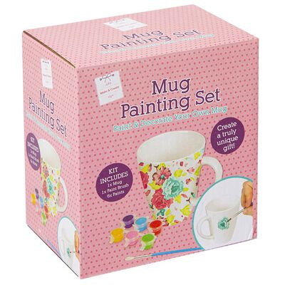 Paint Your Own: Mug Set image number 1