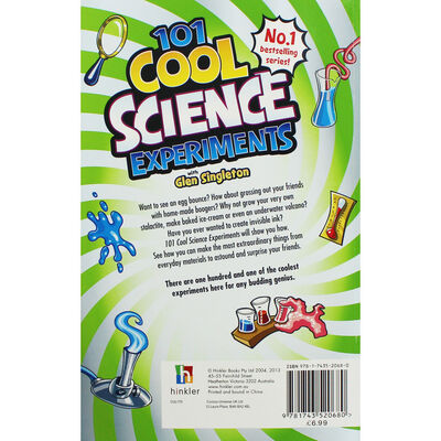 1001 Cool Science Experiments image number 3